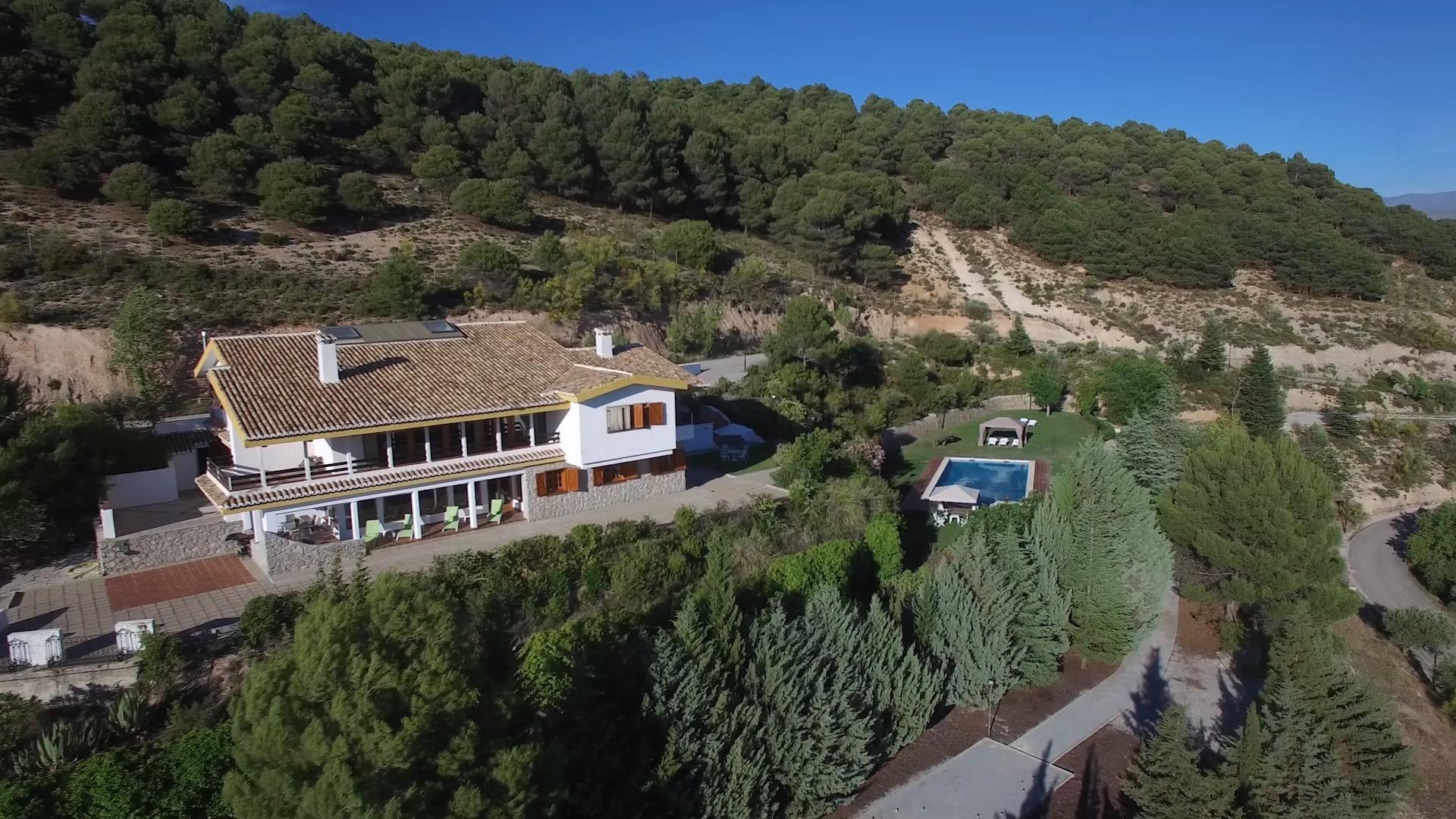 Alquiler de villa para familias con hijos en Granada